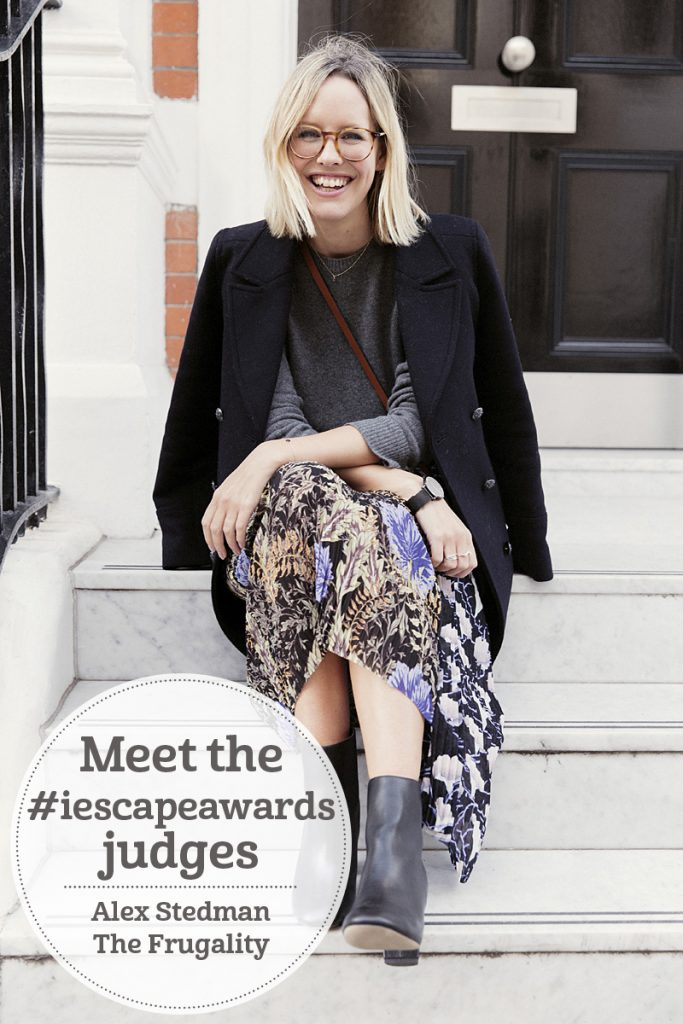The i-escape blog / Meet the #iescapeawards judges: Alex Stedman of The Frugality
