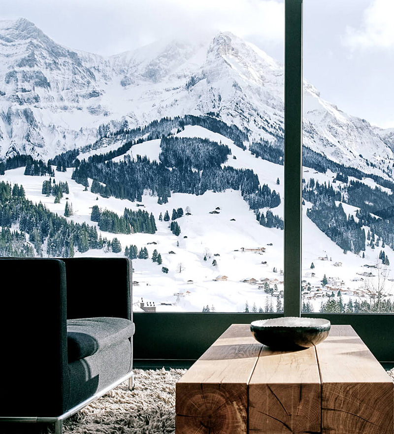 i-escape blog / Hotels with amazing views / The Cambrian, Switzerland