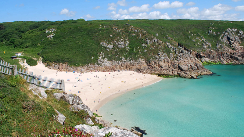 The i-escape blog / Our favourite beaches in the world / Porthcurno, Cornwall