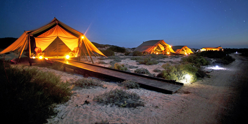 i-escape blog / Best Family Beach Holidays / Sal Salis Ningaloo Reef