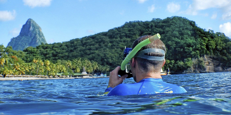 i-escape blog / Water sports beach holidays / Anse Chastanet