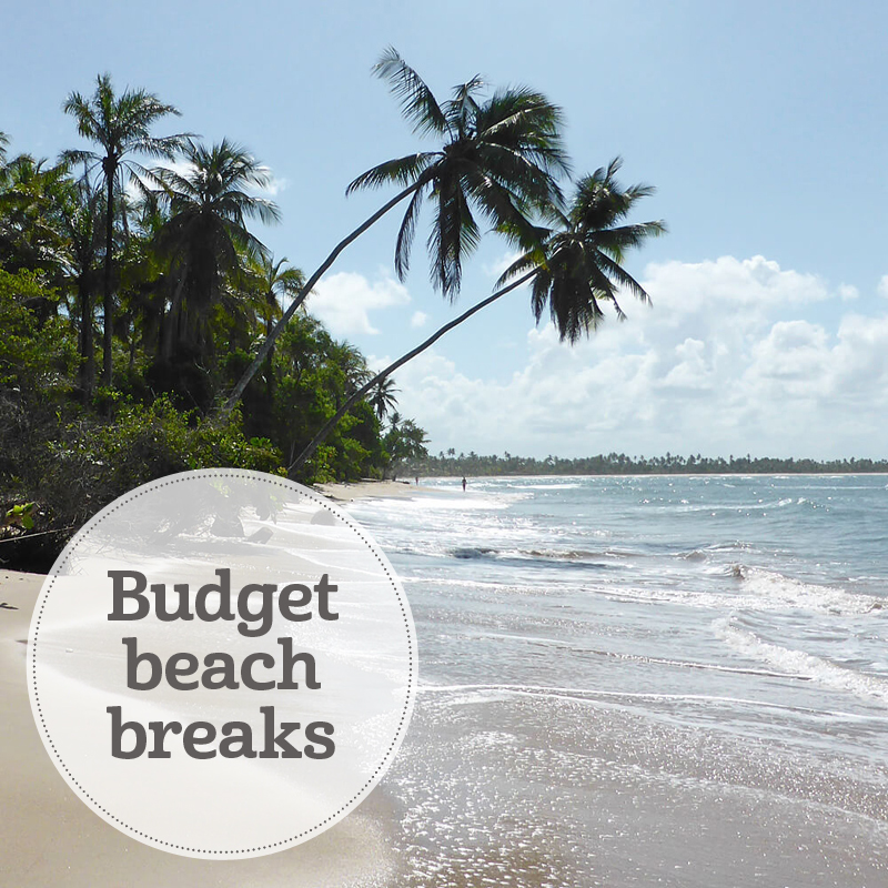 i-escape blog / budget beach holidays