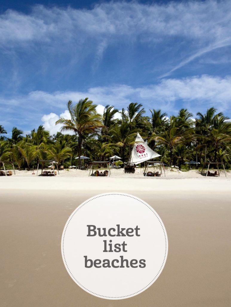 the i-escape blog / Bucket list beaches