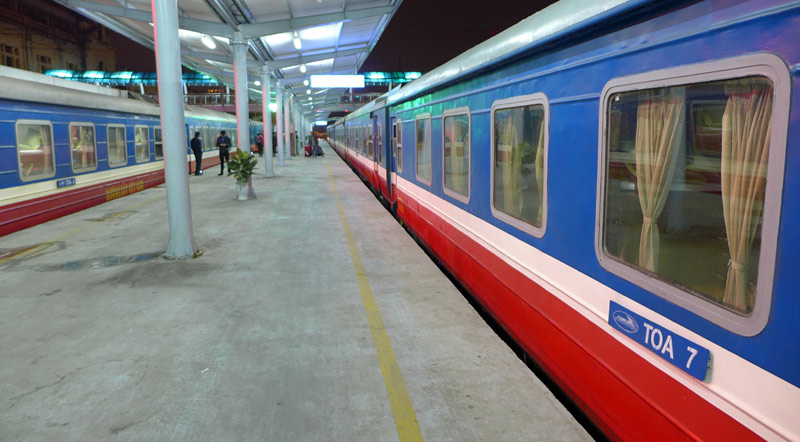 the i-escape blog / Great journeys: Vietnam by train / Vietnamese train