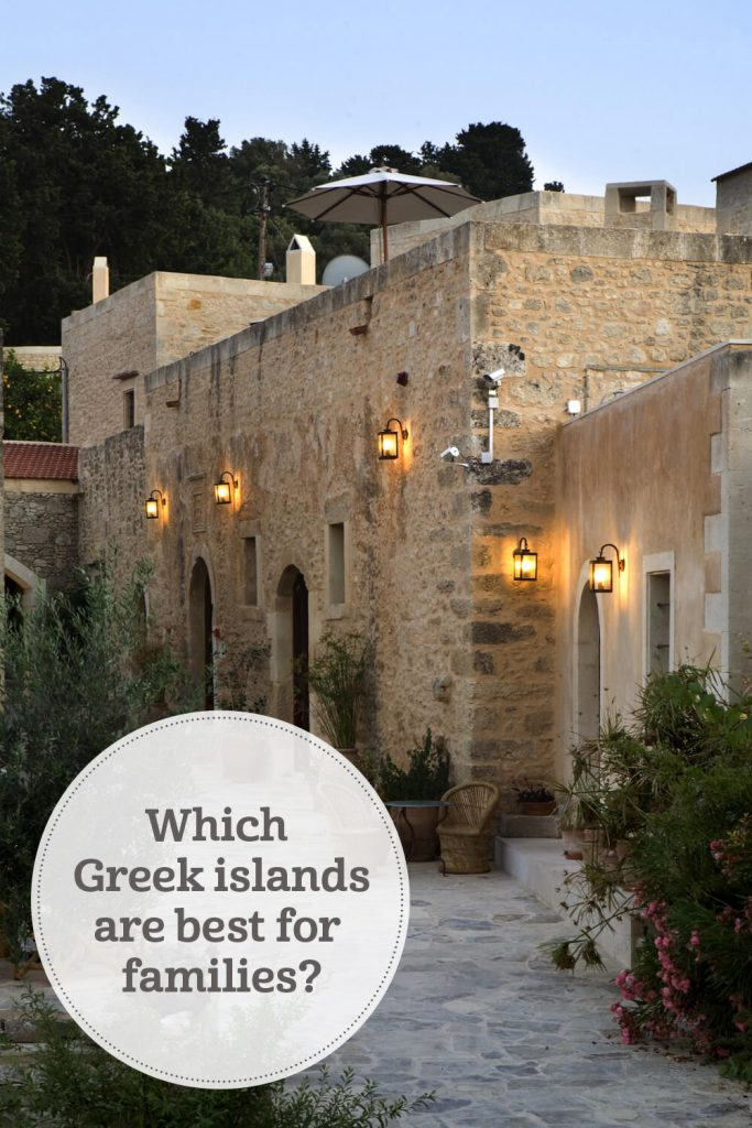 the i-escape blog / Which Greek islands are best for families / Kapsaliana village hotel