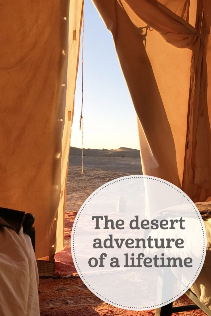 the i-escape blog / Camp Adounia: The desert adventure of a lifetime / Camp Adounia
