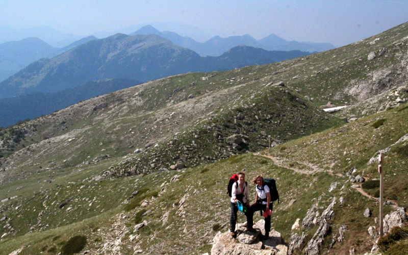 the i-escape blog / the expert view greek mountain hikes / mount taygetus