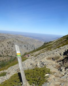 the i-escape blog / the expert view: hiking in andalucia / route to la torrecilla