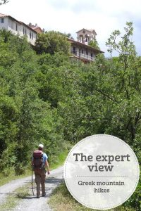 the i-escape blog / the expert view greek mountain hikes