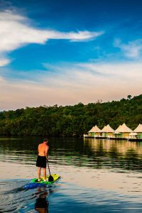 the i-escape blog / wild swimming and stylish stays / 4 rivers floating lodge