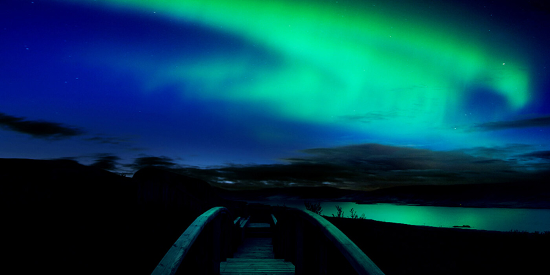 the i-escape blog / European holidays with amazing wildlife / Northern lights Hotel Glymur