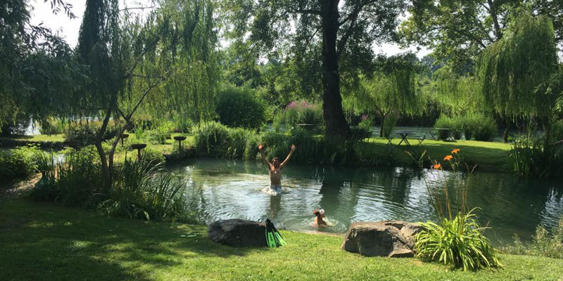 Wild swimming and stylish stays the i escape blog - Finestra sul fiume ...