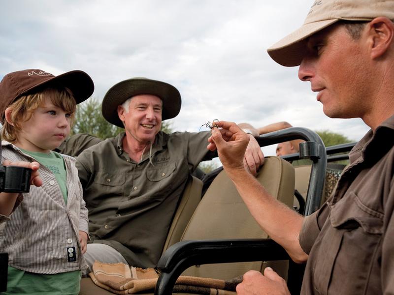 i-escape blog / Up-close animal encounters for families / Madikwe Safari Lodge