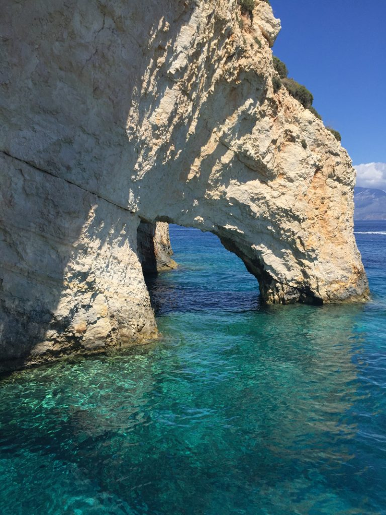 the i-escape blog / European holidays with amazing wildlife / Blue caves Zakynthos