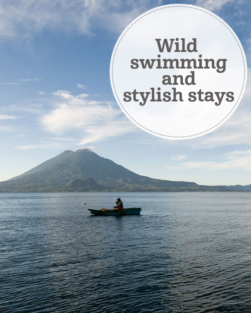 the i-escape blog / wild swimming and stylish stays