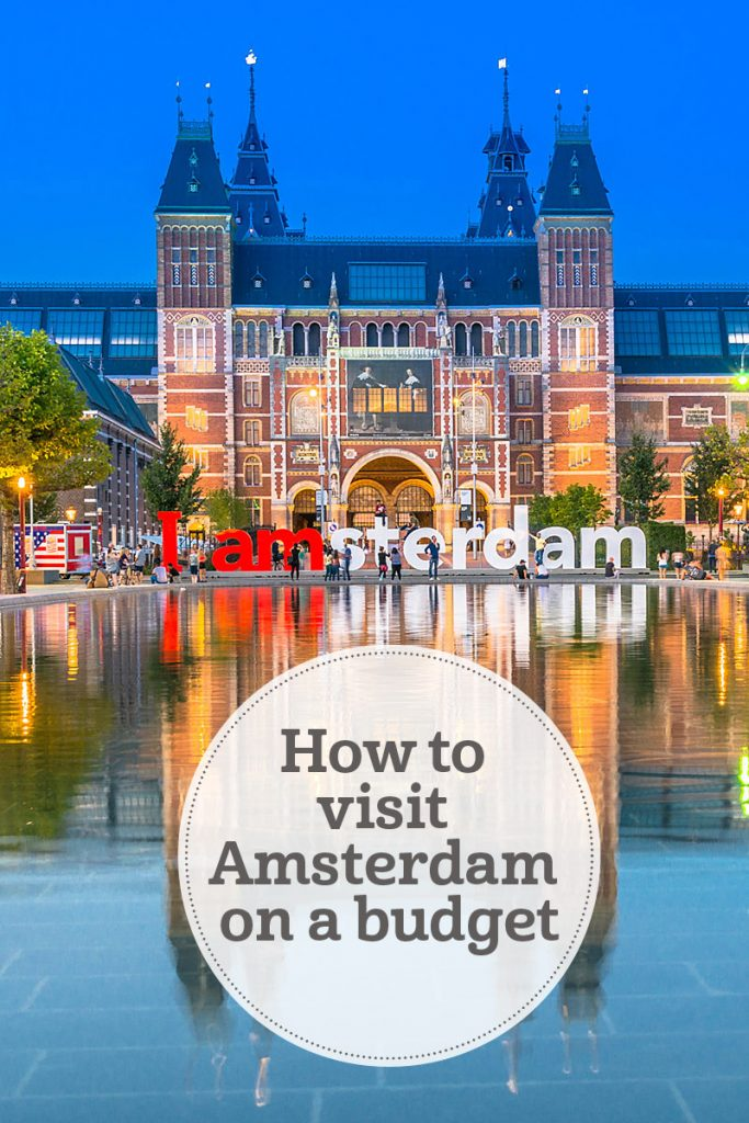 the i-escape blog / How to visit Amsterdam on a budget / ©Nikolai Karaneschev