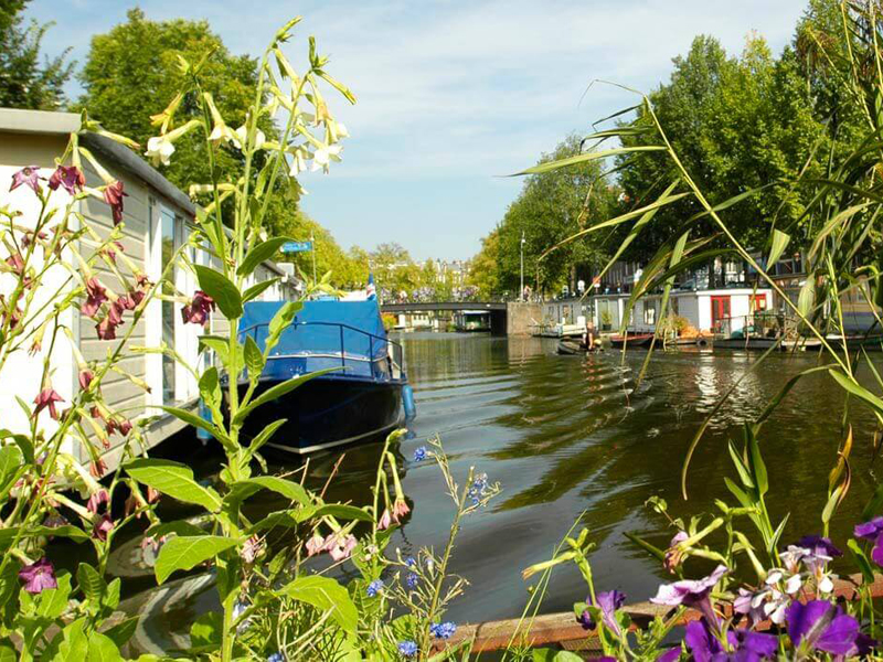 The i-escape blog / How to visit Amsterdam on a budget / Water Home