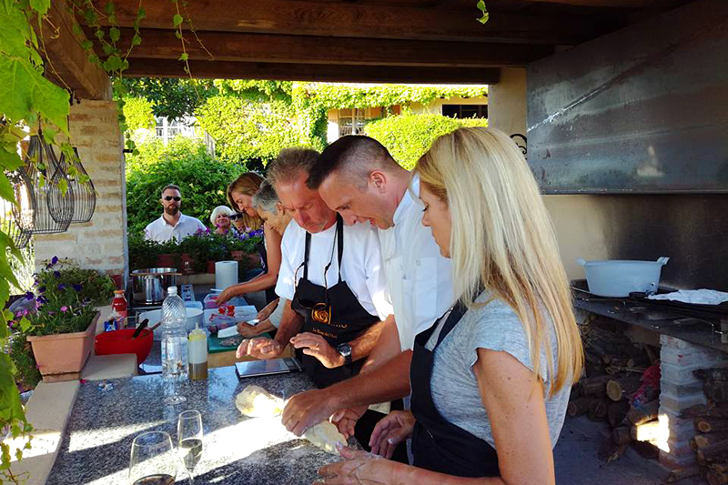 i-escape blog/ Where and when to enjoy Italy's harvest festivals / Cookery class at La Villa