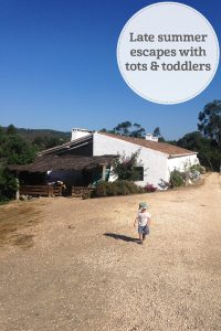 The i-escape blog / Late summer escapes: 6 family holidays for tots & toddlers