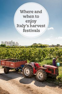 i-escape blog/ Where and when to enjoy Italy's harvest festivals