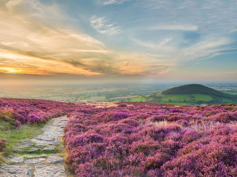 The i-escape blog / The 6 best places to see Britain's autumn colours / North York Moors, Cleveland Way National Trail, copyright Thomas Heaton