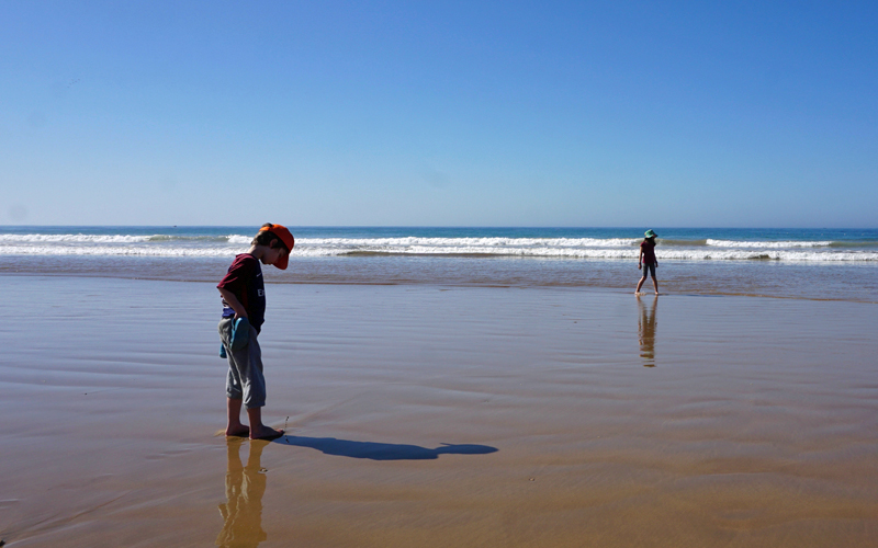 i-escape blog / Just Back From Morocco with the Kids / Paradis Plage