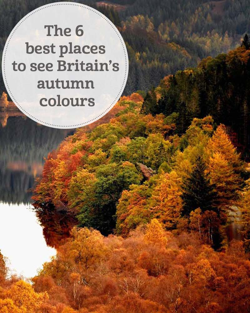 The i-escape blog / The 6 best places to see Britain's autumn colours