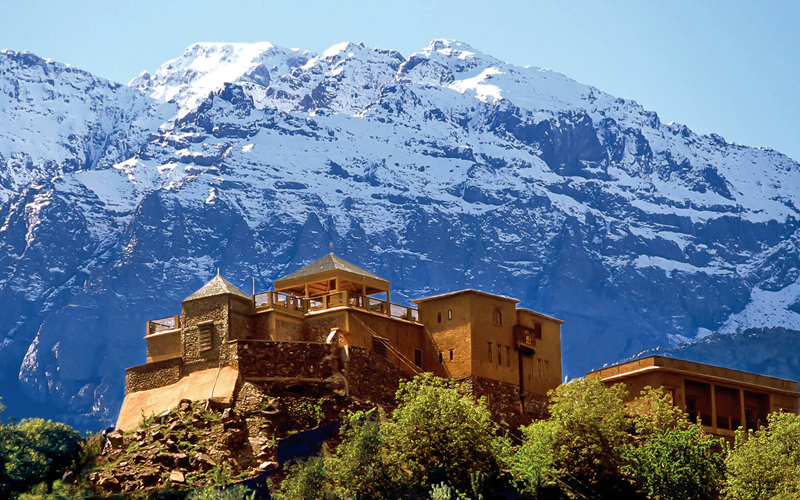 i-escape blog / 5 ways to have a perfect family Christmas holiday / Kasbah du Toubkal