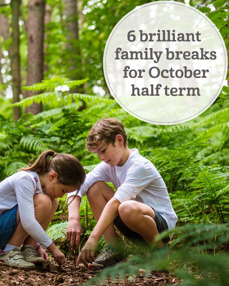 The i-escape blog / October half term holidays: 6 brilliant family breaks in the UK