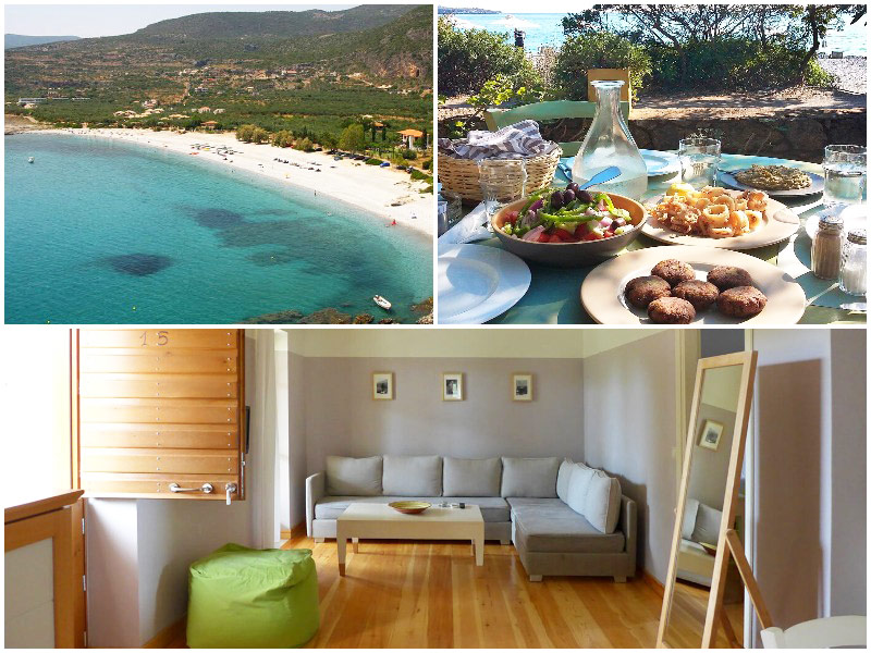 12 Best Budget Beach Hotels in Europe 2019 / Jake Hamilton / The i-escape blog / Elies Hotel, Greece