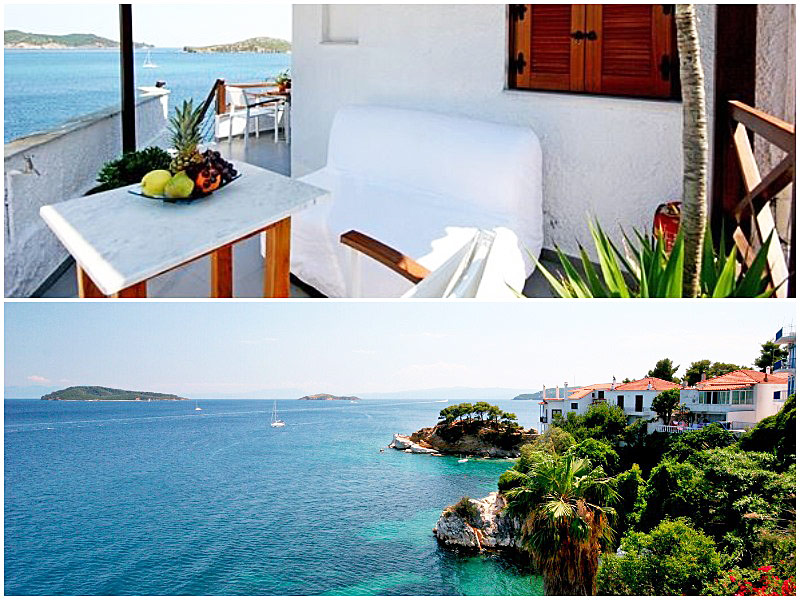 12 Best Budget Beach Hotels in Europe 2019 / Jake Hamilton / The i-escape blog / Koula's House, Skiathos
