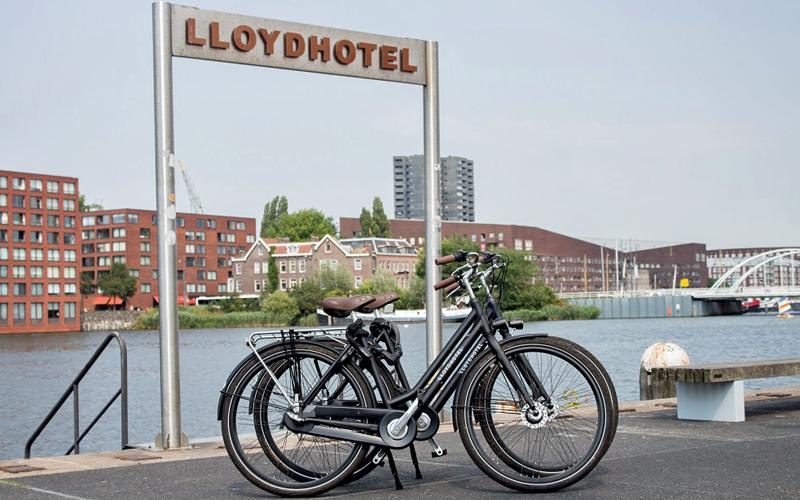i-escape blog / Amsterdam with Kids / Lloyd Hotel