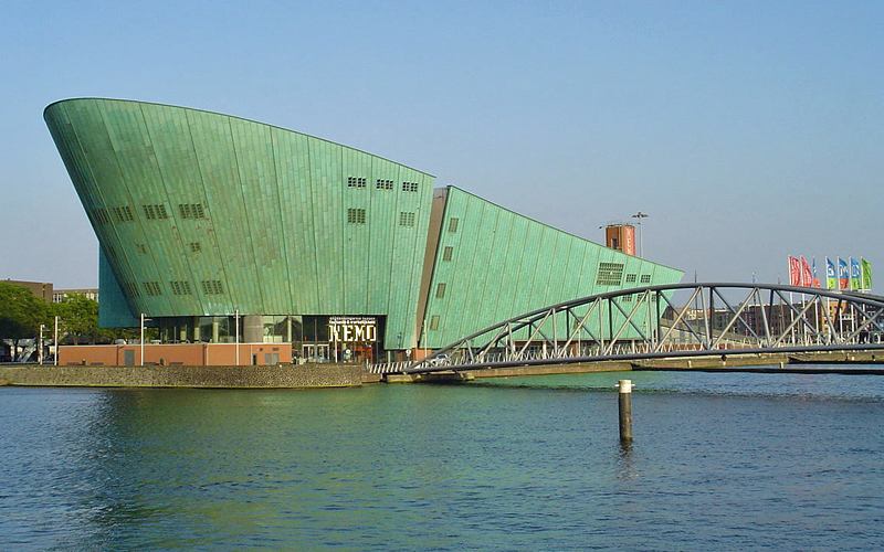 i-escape blog / Amsterdam with Kids / NEMO Museum of Science & Technology