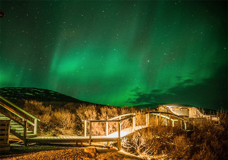 The i-escape blog / 9 brilliant places to see the Northern Lights and other celestial wonders / Hotel Glymur