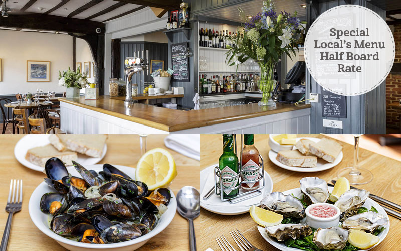 the i-escape blog / 10 delectable UK restaurants-with-rooms / Mistley Thorn