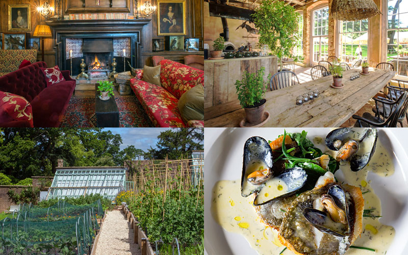 the i-escape blog / 10 delectable UK restaurants-with-rooms / The Pig at Combe