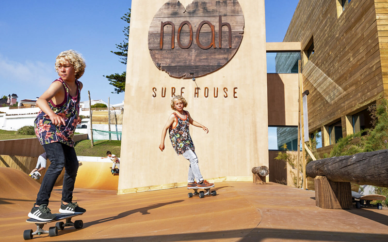 i-escape blog / 12 best family-friendly hotels of 2018 / Noah Surf House