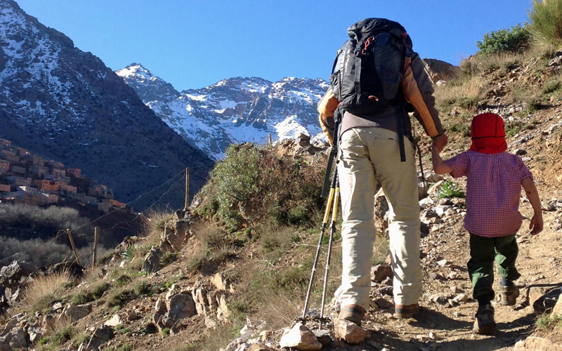 i-escape blog / The Best of Morocco for Families / Kasbah du Toubkal