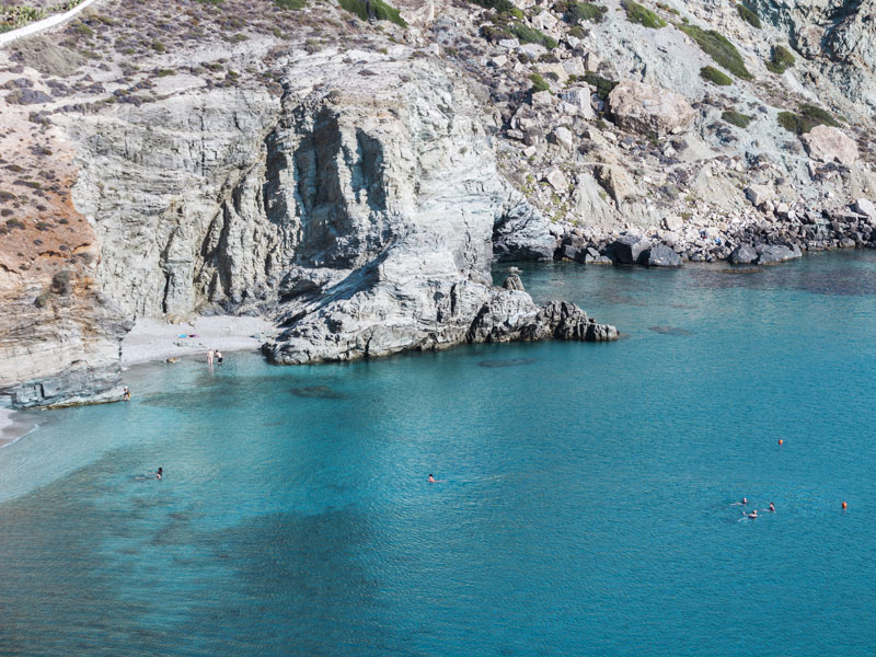 The i-escape blog / An insider's guide to Folegandros: sunsets, snorkelling and romance / Waters around Folegandros