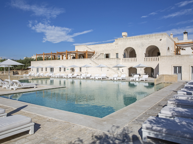 The i-escape blog / 10 spoiling hotels for Mother's Day / Borgo Egnazia