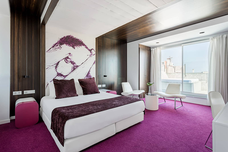 the i-escape blog / 8 best value hotels in Barcelona 2019 / Room Mate Emma