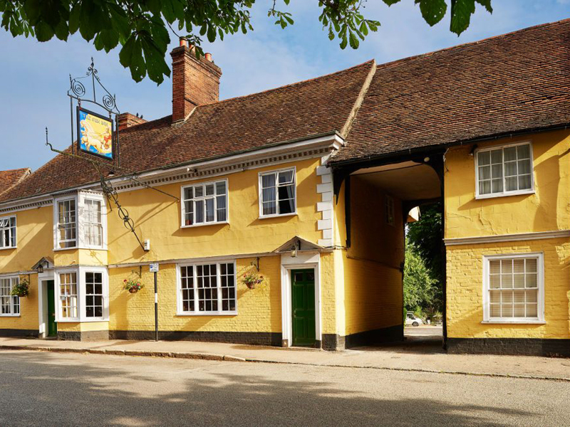 The i-escape blog / The 10 best UK summer pubs-with-rooms / The Sun Inn