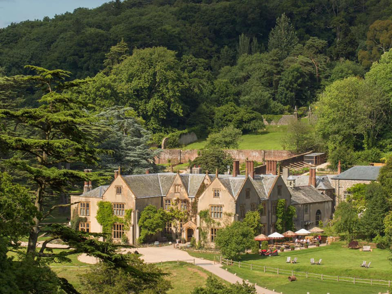 The i-escape blog / 10 spoiling hotels for Mother's Day / The Pig at Combe
