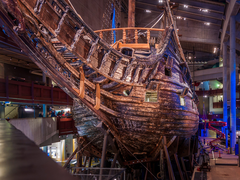 The i-escape blog / Winter city guide: Stockholm with kids / Warship at Vasa Museum, Stockholm