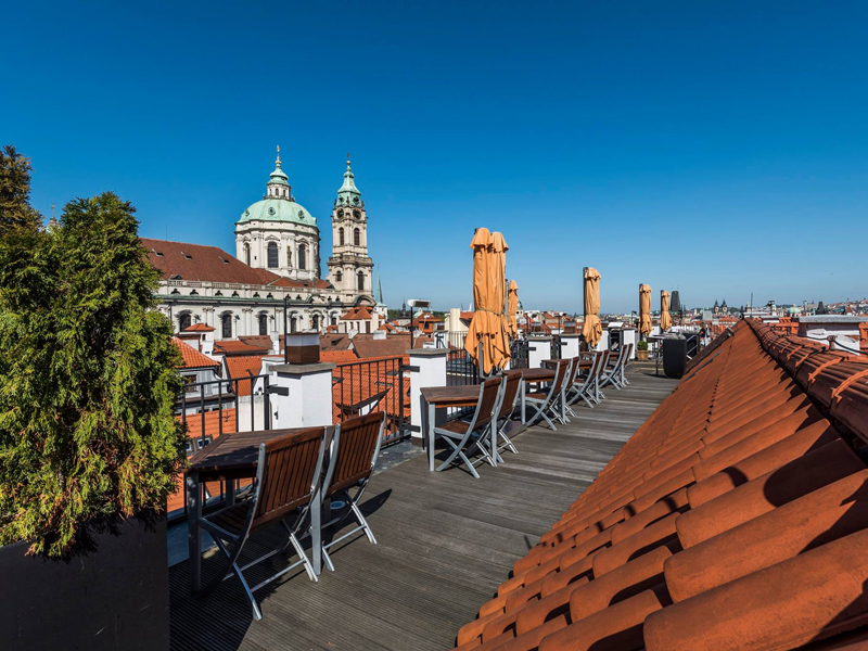 The i-escape blog / 11 European hotels with knockout rooftop views / Aria Hotel Prague