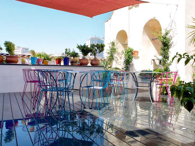 The i-escape blog / 11 European hotels with knockout rooftop views / Attico Partenopeo