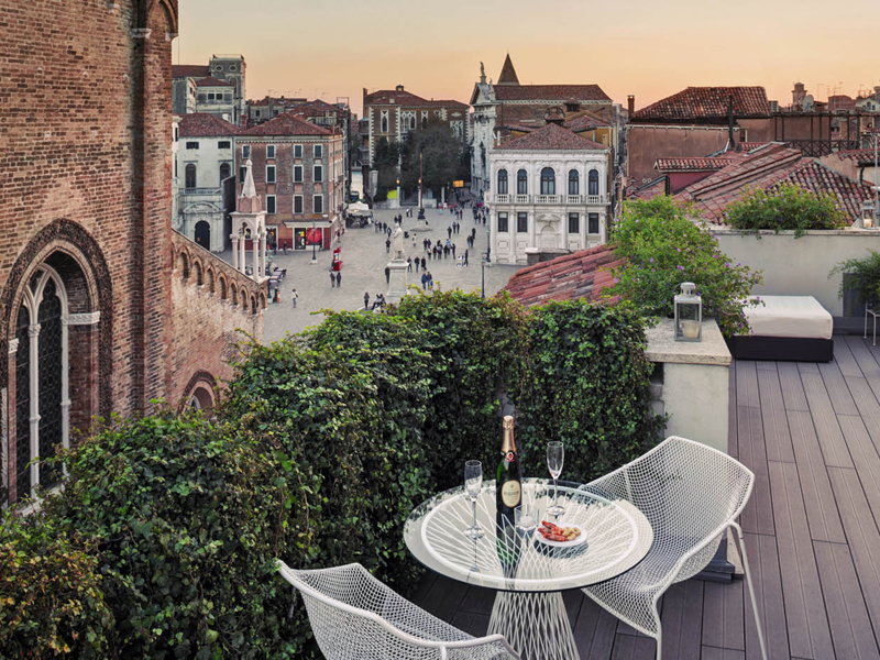 The i-escape blog / 11 European hotels with knockout rooftop views / Bloom and Settimo Cielo