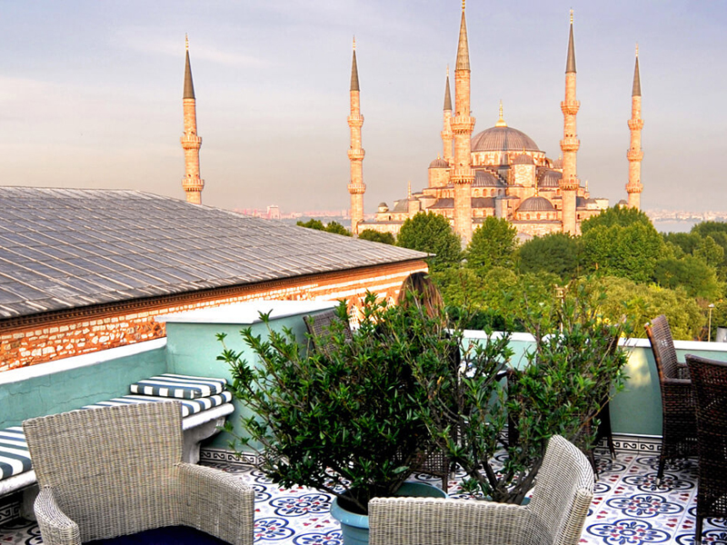 The i-escape blog / 11 European hotels with knockout rooftop views / Hotel Ibrahim Pasha