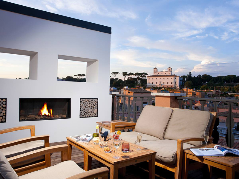 The i-escape blog / 11 European hotels with knockout rooftop views / Portrait Roma