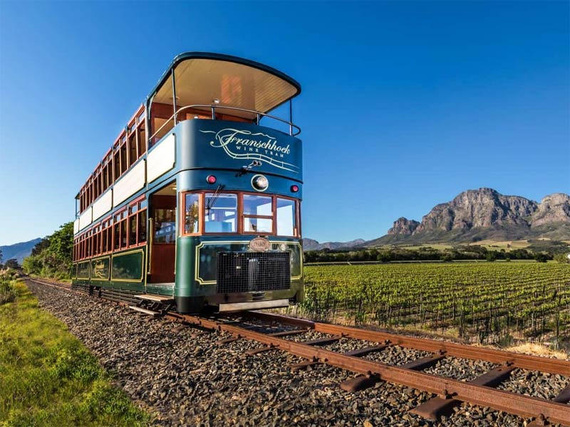 The i-escape blog / Cape Winelands with kids / The Wine Tram